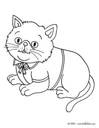 cute cat coloring pages hellokids