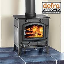 clarke potbelly standard size cast iron wood burning stove