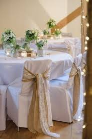 wedding chair sashes rustic wedding with burlap chair sashes and burlap runners