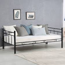 metal frame sofa bed twin size daybed sofa bed metal frame solid support guest dorm home