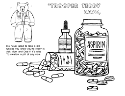 say no to drugs coloring pages funycoloring