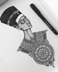 25 beautiful nefertiti tattoo ideas on pinterest egyptian