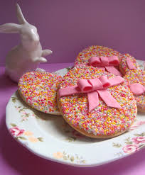 butter hearts sugar easy easter egg cookies