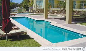 Fascinating Lap Pool Designs Home Design Lover - Backyard lap pool designs