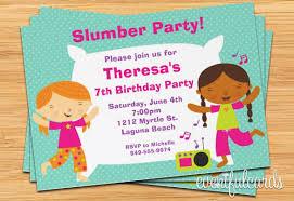 party invitations 13 creative slumber party invitation templates designs free