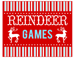 free reindeer games party printables printabelle catch party