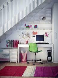 sous bureau design rangements entrée http m habitat fr petits espaces entrees et