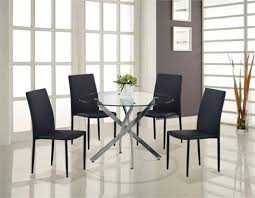 Glass Round Kitchen Table Best 25 Glass Round Dining Table Ideas On Pinterest Round Glass