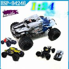 aliexpress buy hsp 1 24 scale electric power monster truck