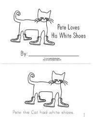 template pete the cat pinterest activities