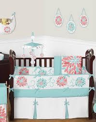 Dahlia Crib Bedding Make Your Kid Comfortable With Baby Crib Bedding