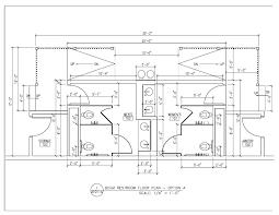 kitchen bathroom with shower layout residential floor singular