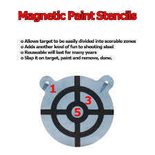 amazon com magnetic target painting stencil by shootingtargets7