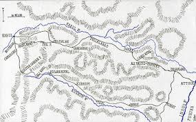 kabul map battle of kabul and the retreat to gandamak