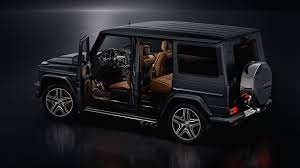 mercedes benz jeep matte black interior mercedes amg g 65