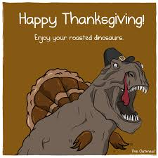 happy thanksgiving the oatmeal