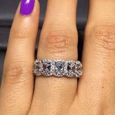 henri daussi engagement rings henri daussi bands 5 1 97ctw