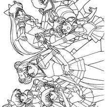 sailor jupiter stars coloring pages hellokids