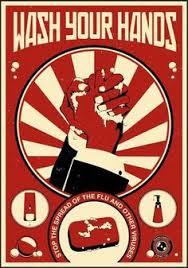 le bureau retro propagande moderne pour le bureau en affiches