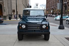 land rover series 1 for sale 1987 land rover defender stock land rover for sale near chicago