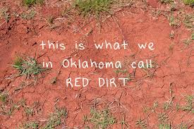 Oklahoma how to fold a shirt for travel images Red dirt dyed tee dream a little bigger jpg