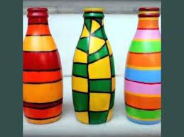 Design For Vase Painting Diy Glass Bottle Art Set Of Easy Decoration Pictures Ideas