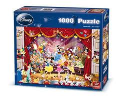 king disney disneyland 1000 jigsaw puzzles assorted designs