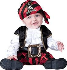 Halloween Costumes Infant Amazon Baby Toddler Pirate Costume Infant Captain