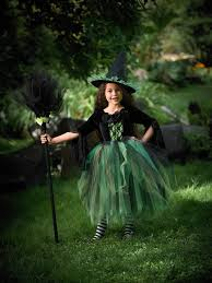 Witch Halloween Costumes Kids Gothic Witch Costume Halloween Dark Lace Witch Tutu 2014