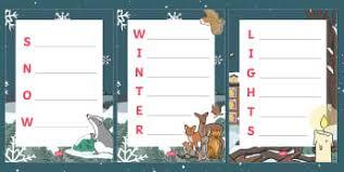 acrostic poem templates page 1