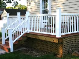 Lattice Patio Ideas by Front Porch Columns Railing Ideas Pvc Deck Patio How To Build A