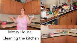 extremely messy kitchen clean up 3 day process youtube