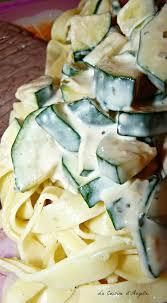 courgette boursin cuisine pates aux courgettes sauce boursin la cuisine d angelle
