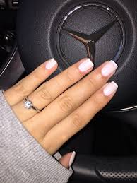 funny bunny opi gel with alpine snow opi at the tip signature