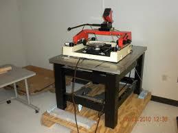 Anti Vibration Table by Karl Suss Pm8 Manual Probe Station Bare W Tmc Anti Vibration T