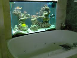 comtemporary 14 bathroom with aquarium on inspiration fish