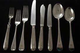 flatware sets caesna mirror 5piece flatware place setting full