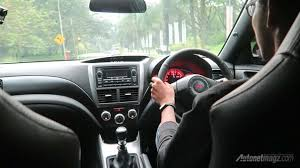 2013 Sti Interior Interior Subaru Wrx Sti Uk Spec Indonesia Autonetmagz