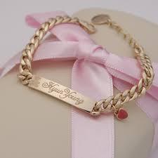 baby gold bracelet with name baby name plate bracelets best bracelet 2018