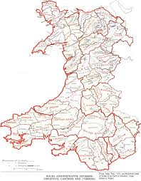 Map Of Wales Gatehouse Website Information On Castle Locations