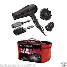 Hair Dryer Volume remington turn up the volume hair dryer gift pack 3 heat 2 speed