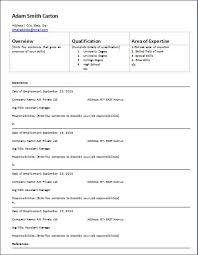 Employment History On Resume Salary History Template Standard Resume Layout Standard Resume