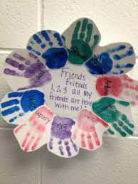 friendship wreath crafts for kids pinterest friendship