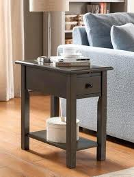 chairside table with charging station end table with usb ports table charging station bedside small end