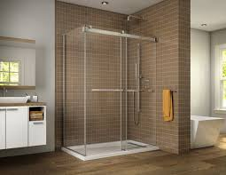 Fleurco Shower Door Gemini Bypass Shower Doors Creative Mirror Showers