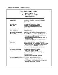 Student Teaching Resume Samples Best Teacher Resume Example Livecareer Education Empha Saneme