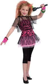amazon com forum novelties 80 u0027s rock star child u0027s costume