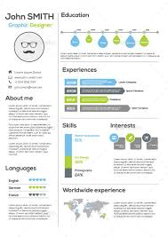 infographic resume best infographic resume templates for you