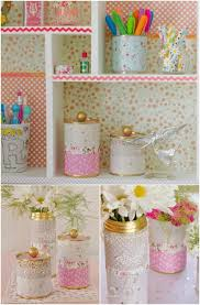 How To Decorate A Tin 25 Crafty Diy Projects Using Tin Cans Diy Cozy Home
