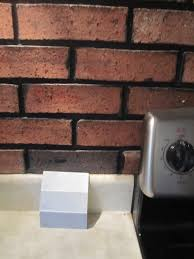How To Paint A Faux Brick Wall - what to do with a faux brick wall in our kitchen